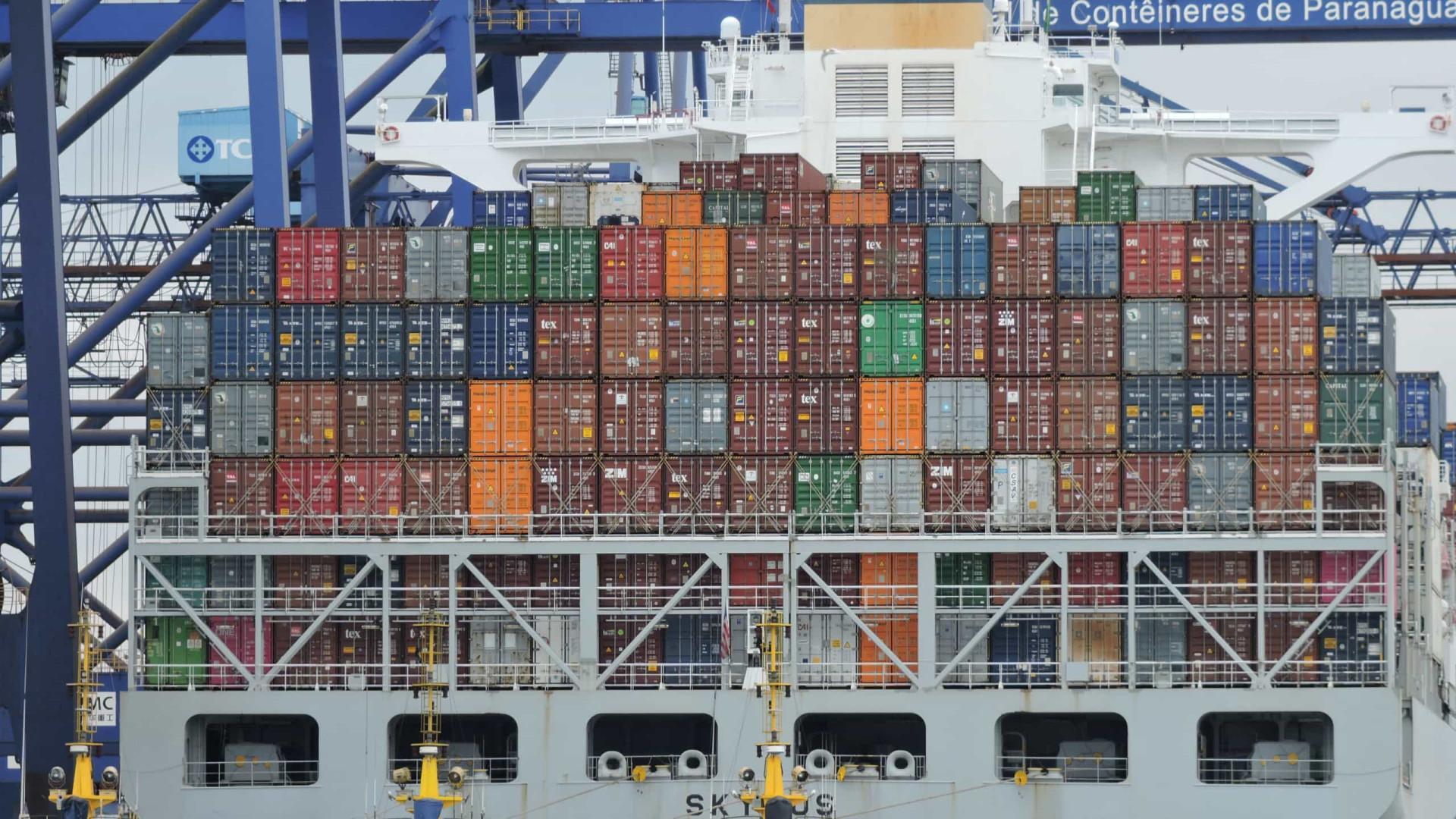 Portos do Paraná movimentaram até setembro cerca de 44,5 milhões de toneladas