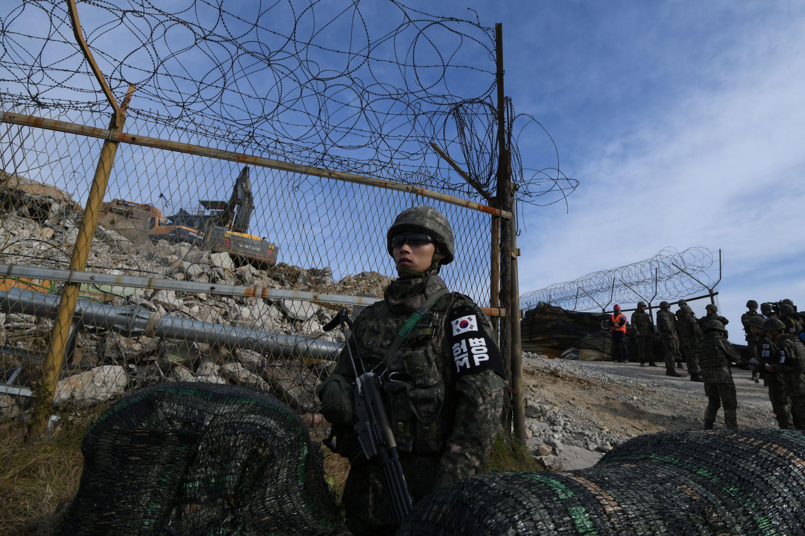 Coreia do Norte remove dez postos de guarda fronteiriços