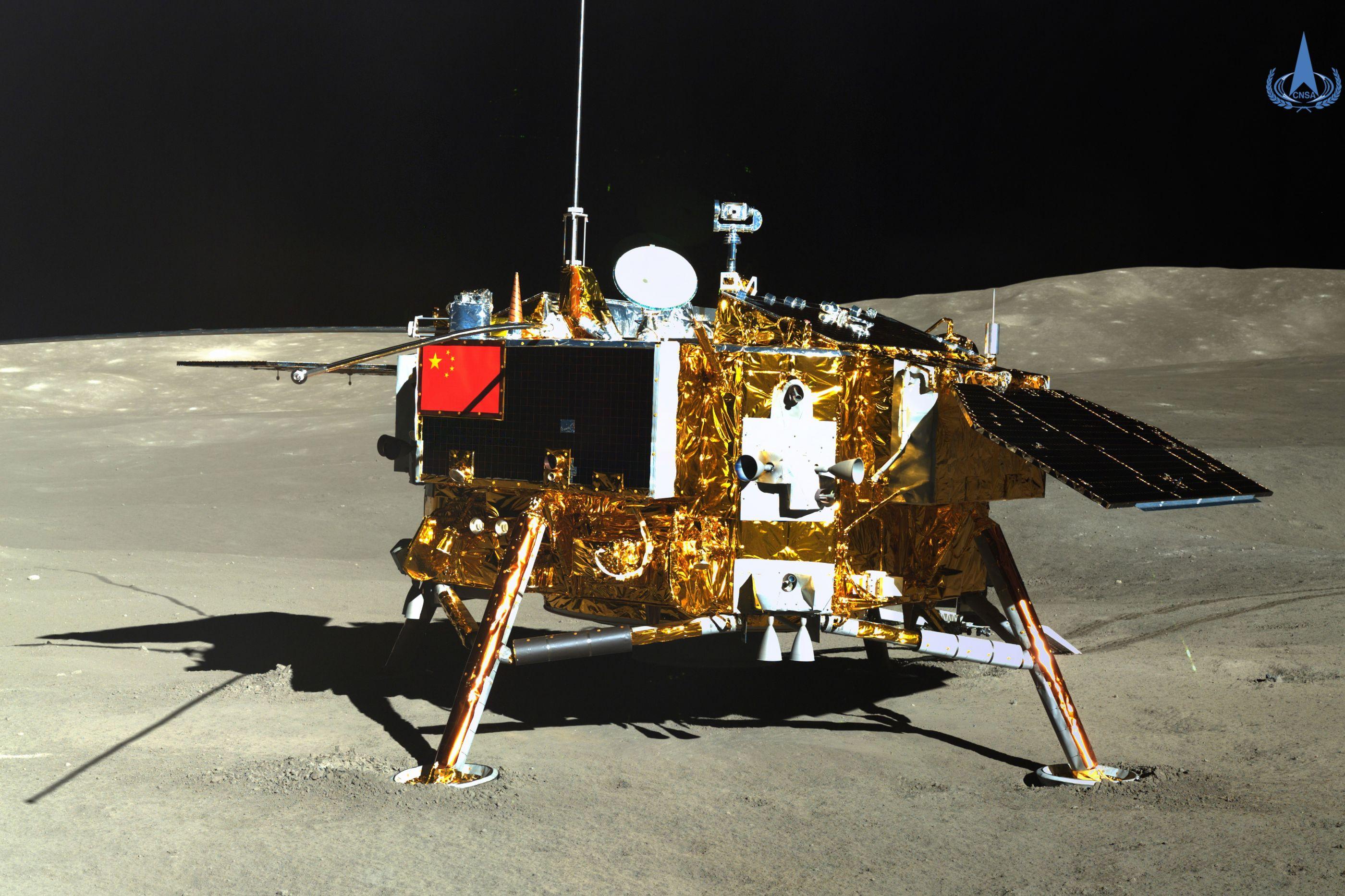 Missão espacial chinesa consegue fazer brotar semente de algodão na Lua