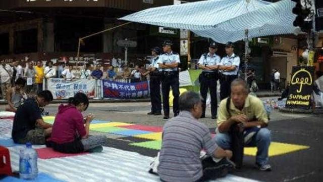 Acusados de iniciarem protestos em Hong Kong se dizem inocentes