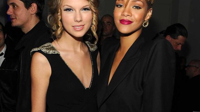 Rihanna se recusa a fazer show com Taylor Swift