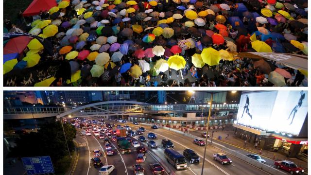 O Movimento Umbrella um ano depois