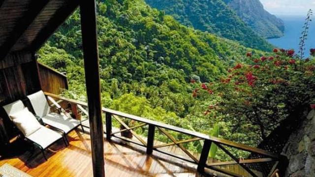 Doze quartos com vista para paisagens deslumbrantes