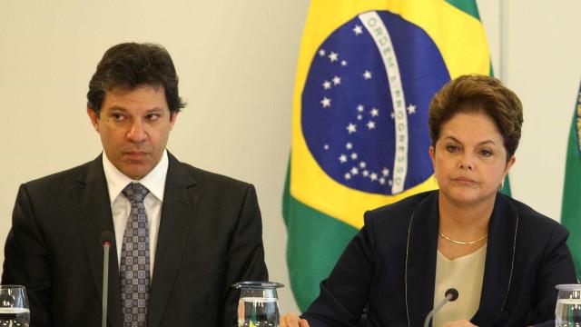 Haddad não descarta criticar Dilma no bloqueio de recursos federais
