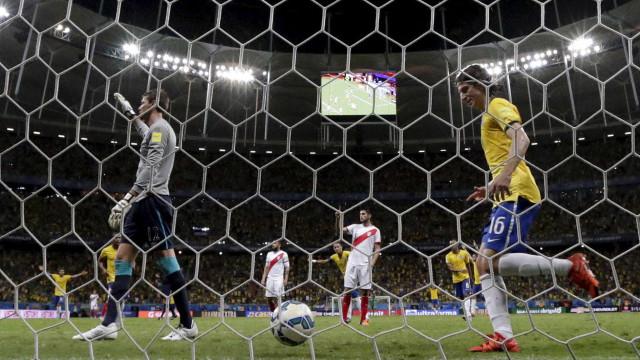 Assista aos melhores momentos da vitória do Brasil sobre o Peru