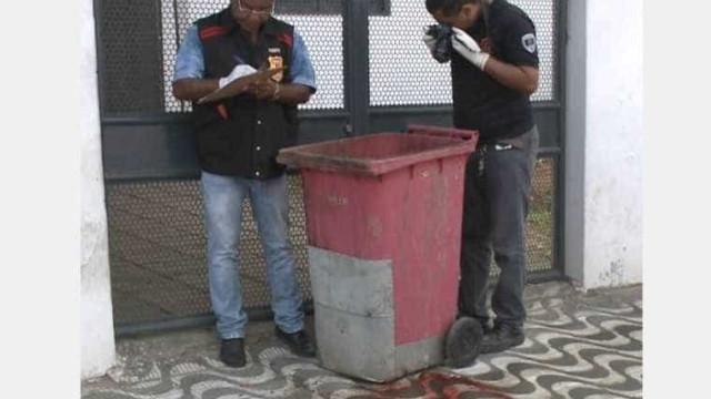 Jovem é encontrada morta e amarrada dentro de lixeira na Paraíba