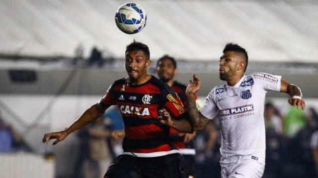 Santos joga mal, empata com o Flamengo e deixa o G4