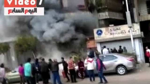 Vítimas foram queimadas vivas em ataque no Cairo