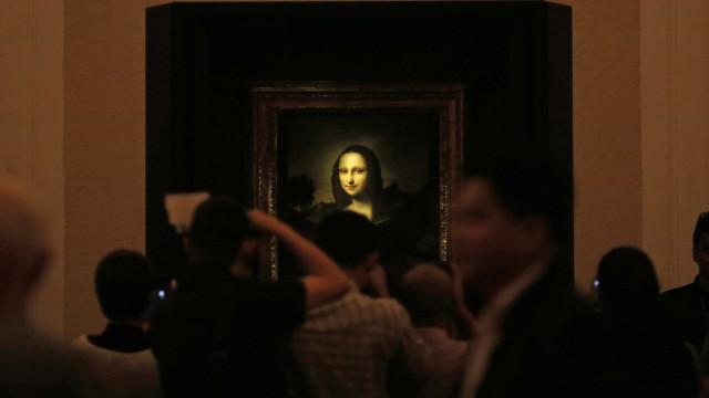 """Descoberto """"retrato escondido"""" na pintura de Mona Lisa"""