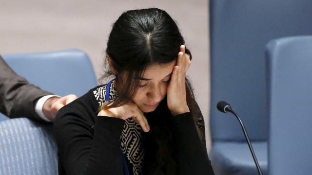 Jovem raptada e abusada pede à ONU que destrua o Estado Islâmico