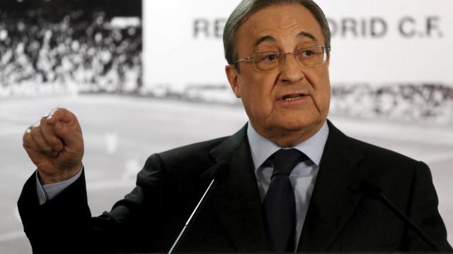 Florentino Pérez defende Benítez e descarta volta de Mourinho