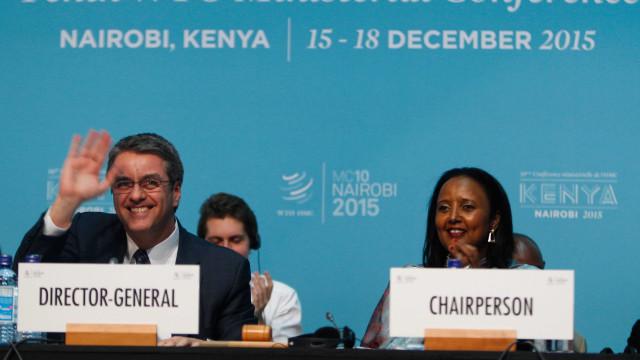 OMC chega a acordo para eliminar subsídios agrícolas