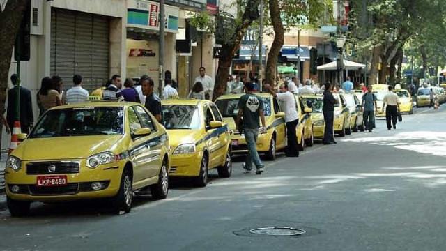 Reajuste de táxis do Rio de Janeiro  começa a valer amanhã