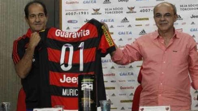 'Ganhar no Flamengo deve ser muito legal', diz Muricy em apresentação