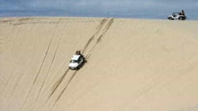 Criança morre em acidente com buggy irregular em praia do CE
