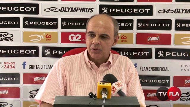 Bandeira rebate Eurico: 'Fla não é responsavel pela organização do jogo'
