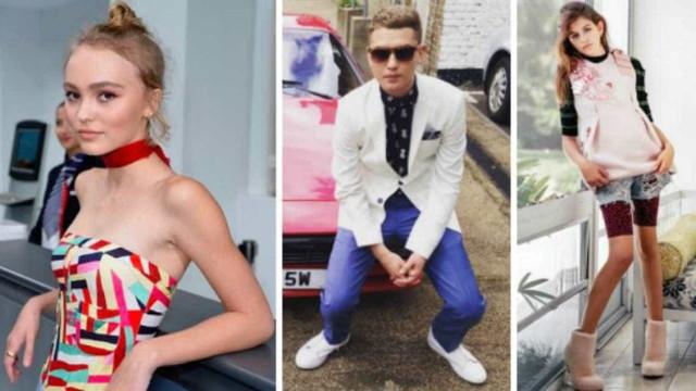 Conheça os filhos de famosos que se tornaram modelos