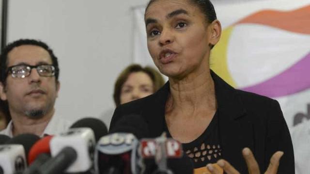 Marina Silva defende, em nota, apoio à livre manifestação