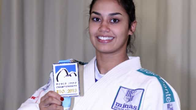 Judoca Mariana Silva fatura prata em Grand Prix de Samsun