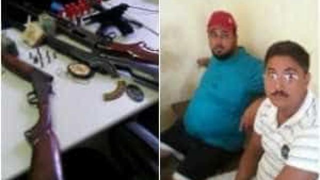 Após denúncia, PM encontra arsenal em casa de irmãos no Ceará