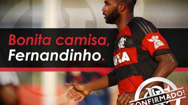 Flamengo oficializa contratação do atacante Fernandinho