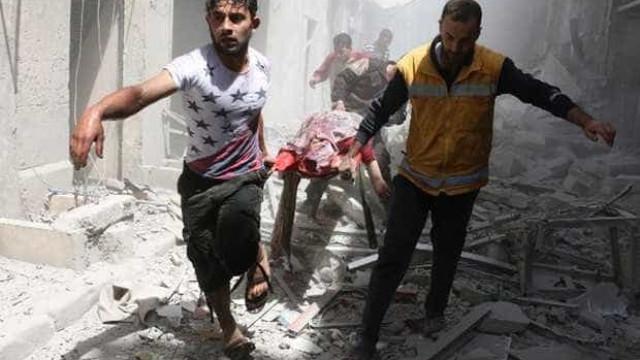 Uma clínica e uma mesquita são atingidas no Norte da Síria