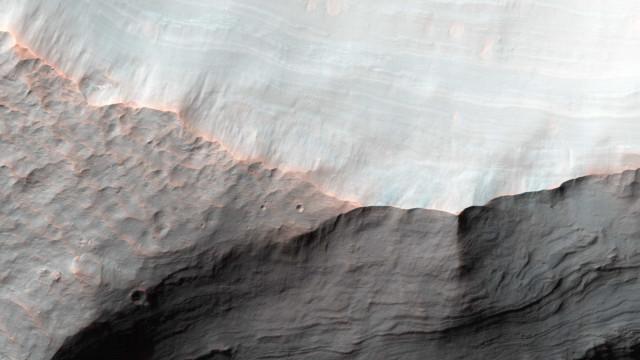 Foi feita uma nova descoberta sobre a água de Marte