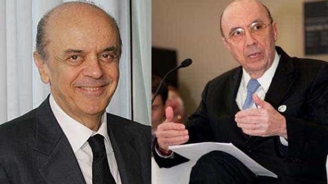 José Serra e Henrique Meirelles devem lutar por espaço de olho em 2018