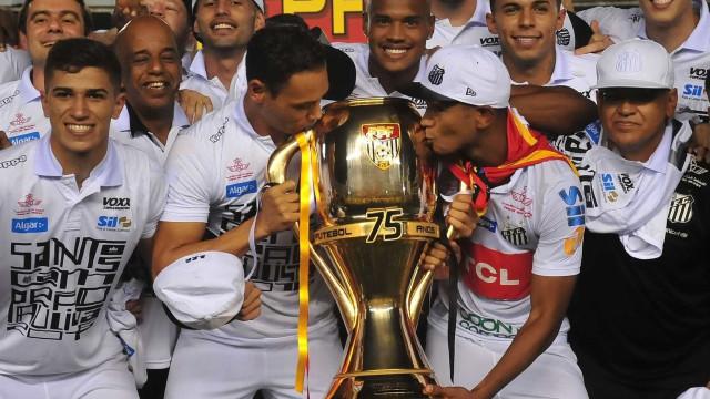 Santos vence Audax e é  campeão paulista pela 22ª vez