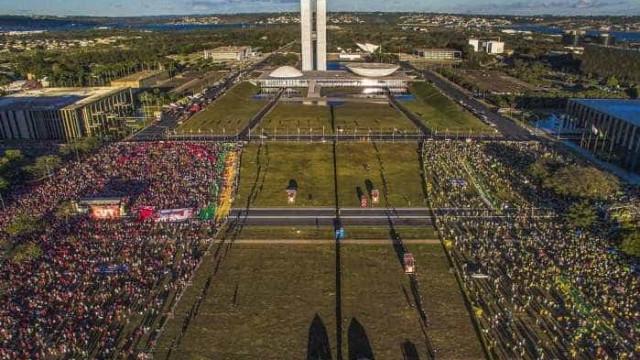 Decisão do Impeachment: acompanhe os protestos pelo Brasil