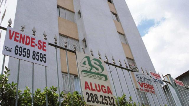 Inflação que regula aluguéis permanece em queda