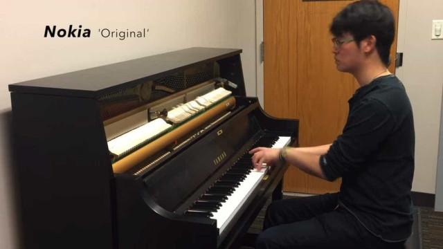 Toques de celular de diversas marcas são recriados no piano