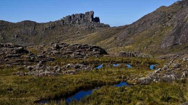 Termômetros marcam -5,6 graus no Parque Nacional de Itatiaia, no Rio