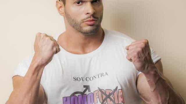 Lucas Mesquita, o Gavião do SBT, apoia campanha conta homofobia