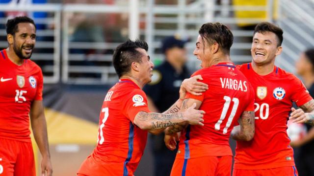 Chile goleia o México por 7 a 0 e vai à semifinal