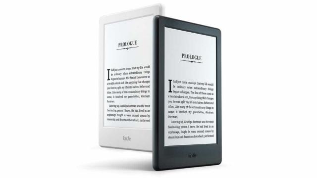 Novo Kindle da Amazon: mais leve e mais fino