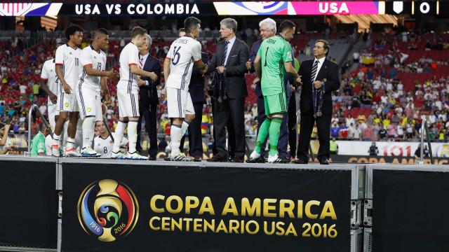 Colômbia derrota os EUA e fica com o  3º lugar da Copa América
