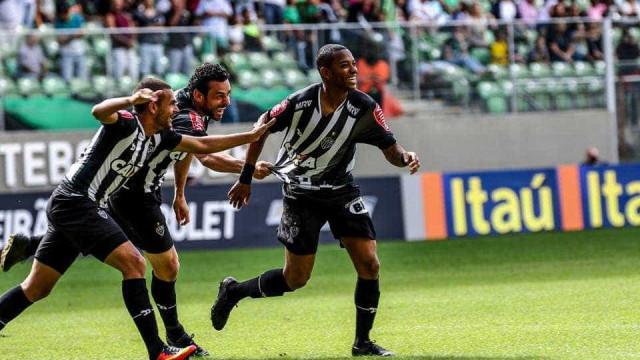 Robinho marca e Atlético-MG bate o  América-MG em clássico