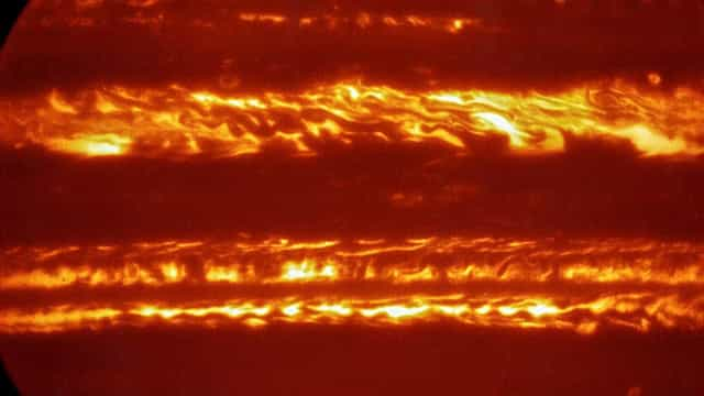 Imagens de Júpiter são divulgadas por Observatório Europeu