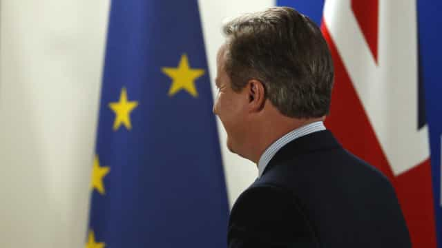 Cameron diz que 'divórcio' da  União Europeia caberá a quem o suceder