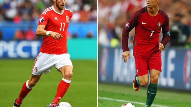 Portugal e País de Gales se enfrentam nesta quarta