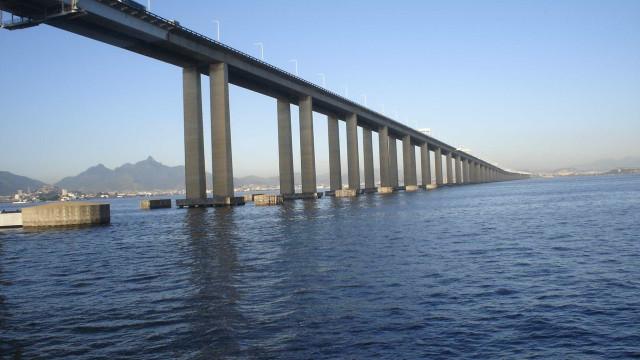 Tráfego de carga na Ponte Rio-Niterói  será reduzido nos Jogos