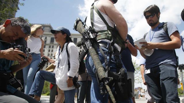 Ohio não proíbe armas durante Convenção Republicana