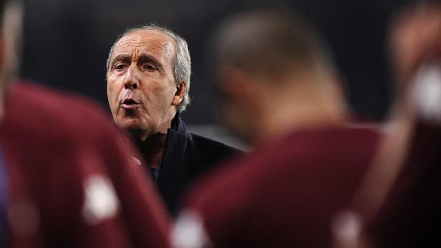 Ventura assume Itália e diz  que não deve convocar quem joga na China