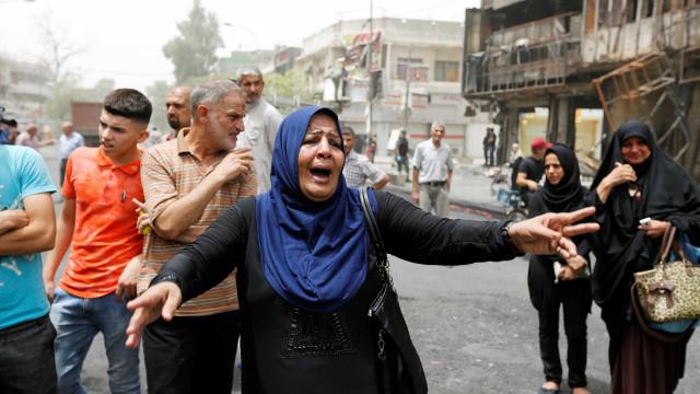 Sobe para 149 número de mortos em  ataque do EI em Bagdá