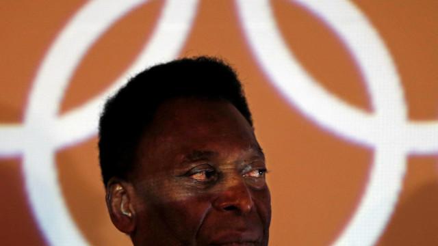 Pelé lança 'Esperança', música para celebrar Jogos Olímpicos do Rio