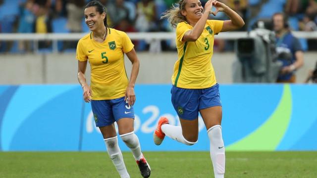 Pé direito: Brasil vence a China por 3 a 0 no Engenhão