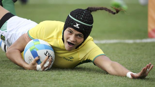 Com 9º lugar, brasileiras do rúgbi  garantem vaga em circuito mundial