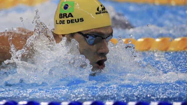 Com vaga na semi, Leo de Deus diz que natação tem que 'fazer muito melhor'