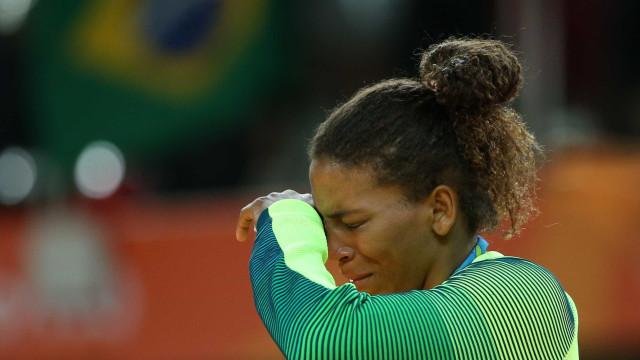 Vítima de racismo, Rafaela Silva evitou  a internet antes da medalha